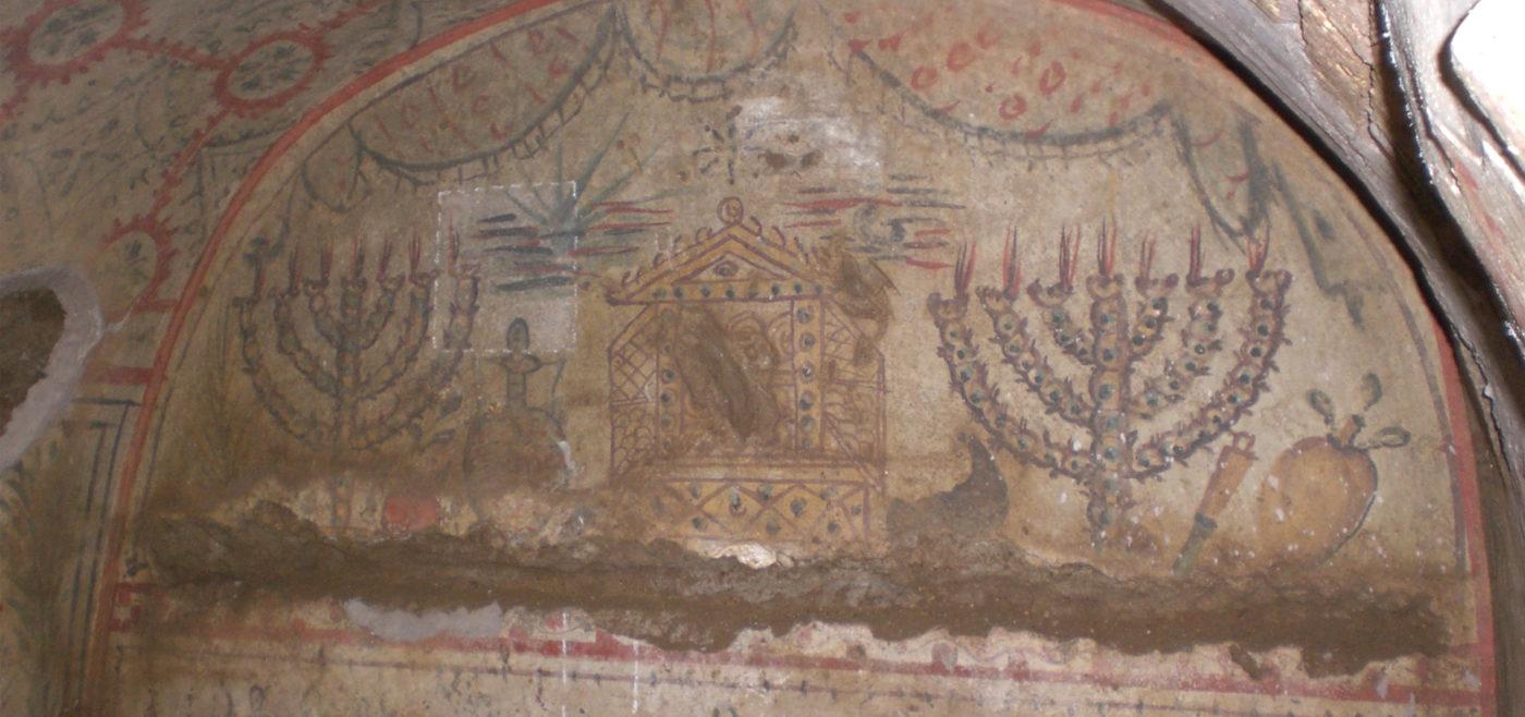 Tour catacombs jewish Rome*