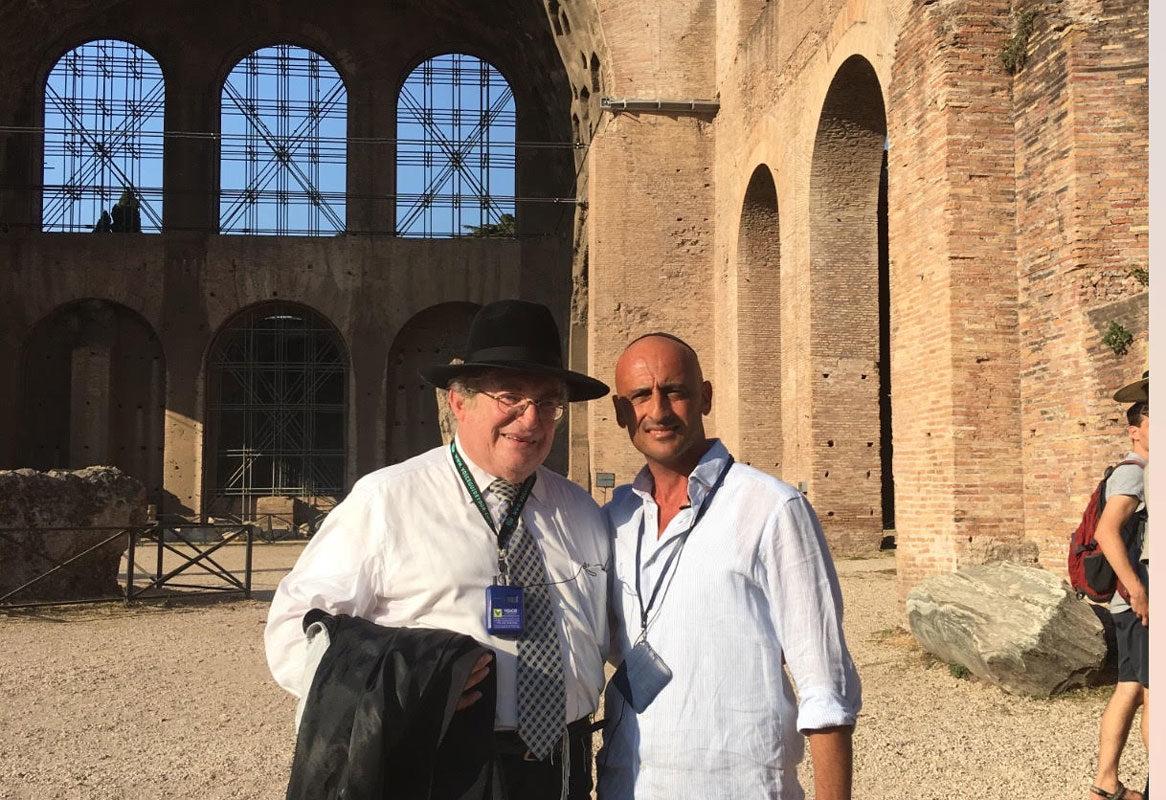Guiding for Rabbi Paysach Krohn