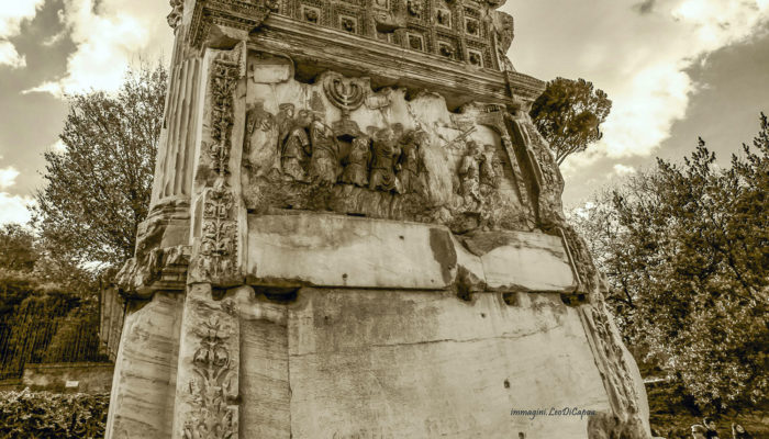 The Arch of TItus: one of the most important sites on my Jewish Ancient Rome tours
