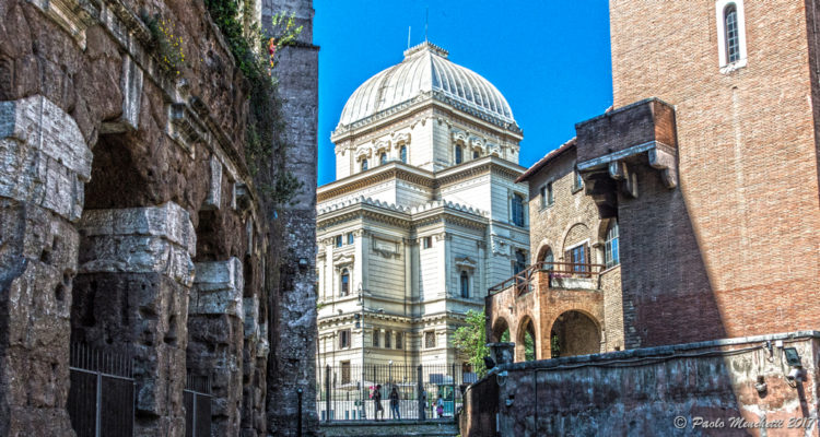 The Great Synagogue of Rome. Photo Credit: Paolo Menchetti