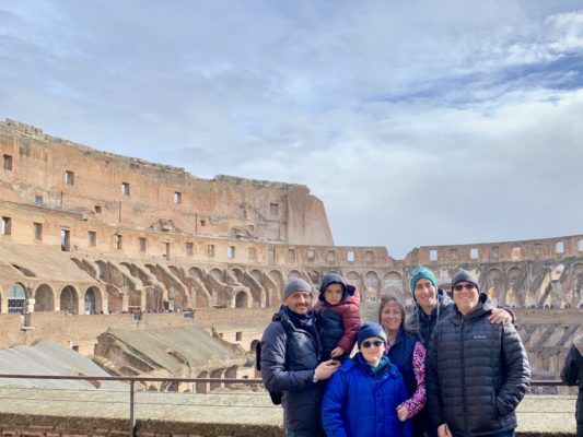 Exploring the Colosseum from a Jewish perspective.