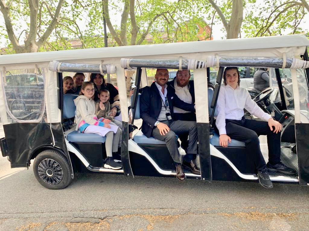 Come join us as we explore Rome on Wheels from a Jewish Perspective