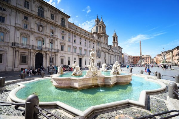 Piazza Navona: one of my favorite stops on my Rome on Wheels from a Jewish Perspective tour