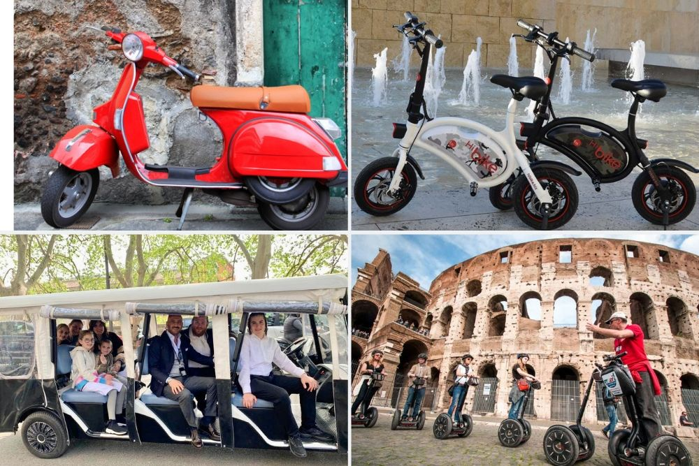 Rome on Wheels