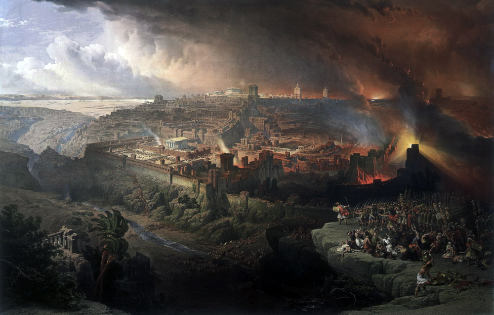 Judaea Capta: the Siege of Jerusalem by David Roberts