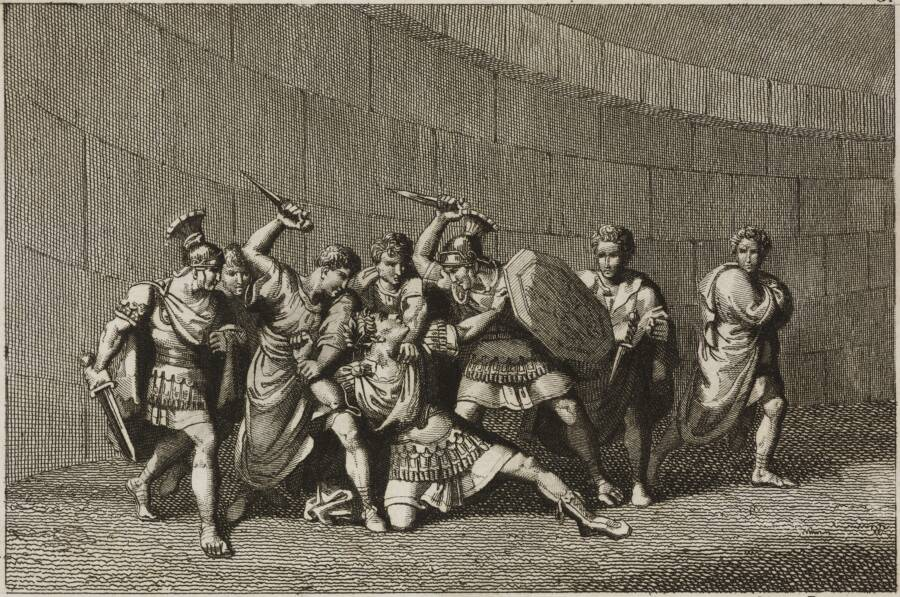 The Assassination of Caligula