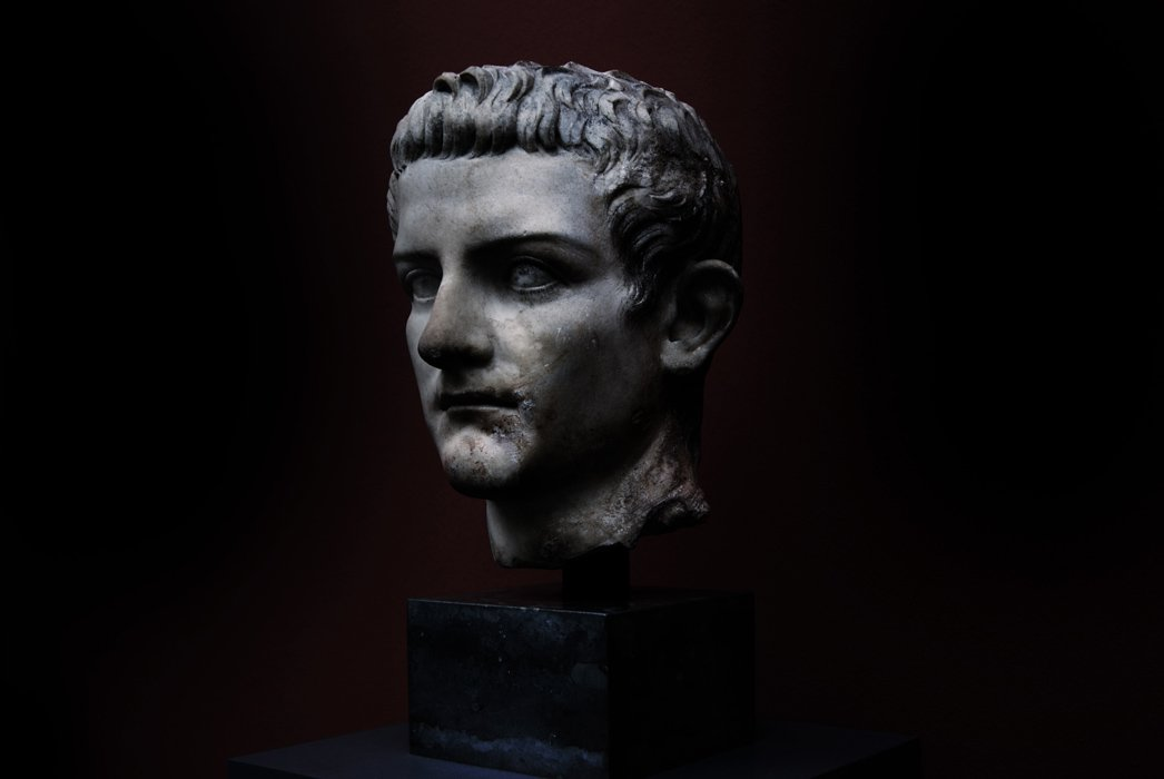 Bust of the emperor Caligula