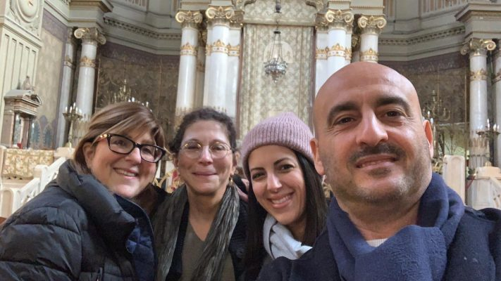 Happy clients from my Jewish Ghetto and Synagogue tour