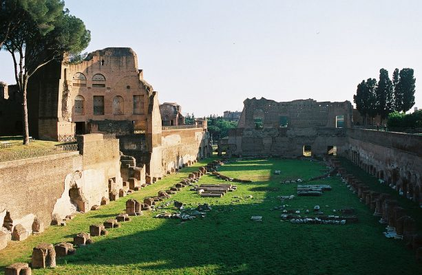 The Imperial Palace on the Palatine Hill
