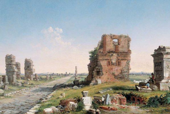 John_Linton_Chapman_(1839–1905),_Via_Appia,_1867._Oil_on_canvas,_Georgia_Museum_of_Art,_University_of_Georgia