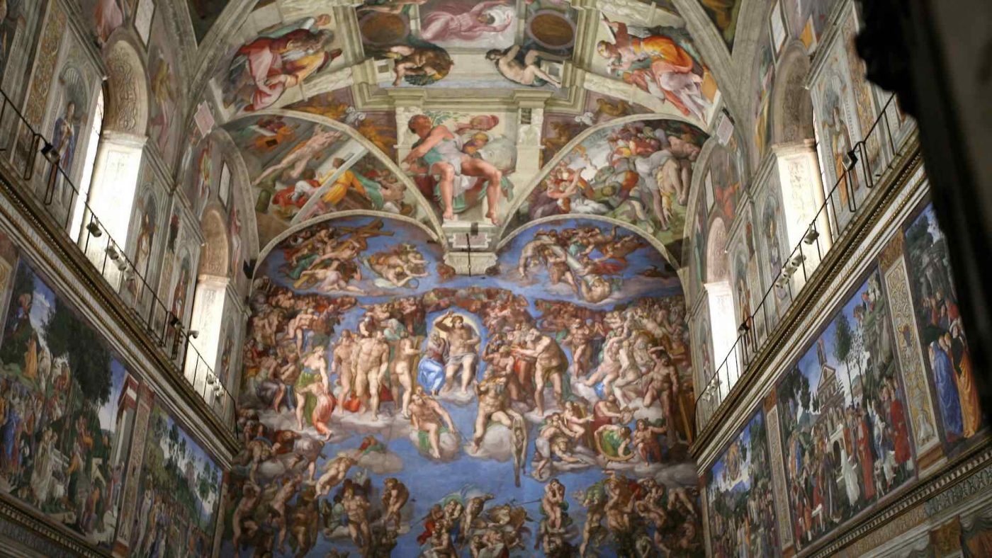 Can Jews go inside the Sistine Chapel?