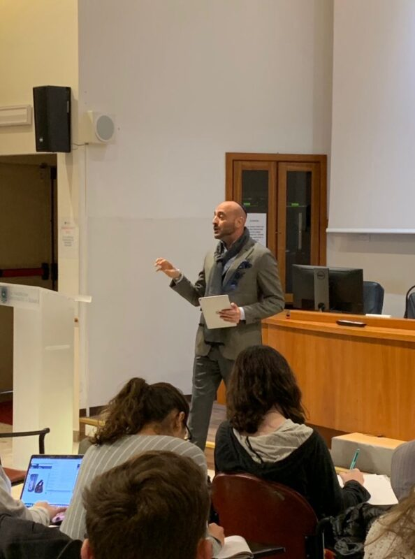 Guest Lecturing at the American University of Rome